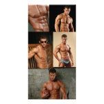 Justin Woltering Bodybuilder & Fitness Model Photo Personalized Photo Card