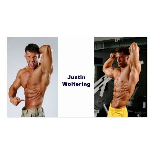 Justin Woltering Business Cards