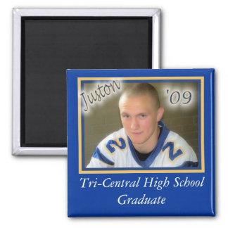 Juston Graduation magnet