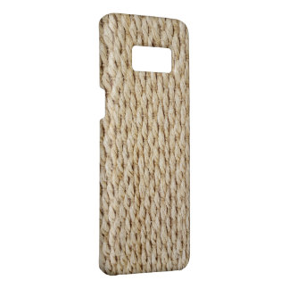 jute rope background Case-Mate samsung galaxy s8 case