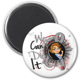 Juv Diabetes Rosie Cartoon WCDI png Magnet