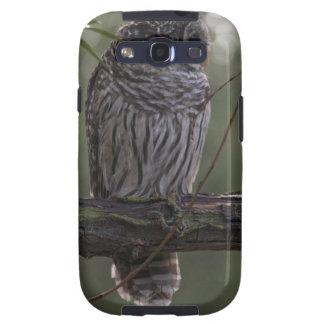 Juvenile Barred Owl (Strix varia) 2 Samsung Galaxy SIII Covers
