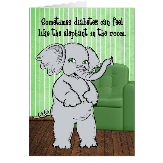 Juvenile Diabetes Get Well for Kids - Elephant