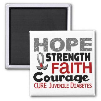 Juvenile Diabetes HOPE 3 Magnet