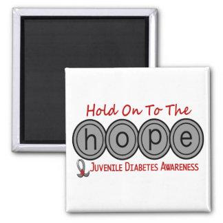 Juvenile Diabetes HOPE 6 Fridge Magnets