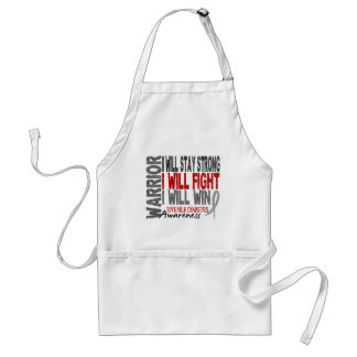 Juvenile Diabetes Warrior Standard Apron