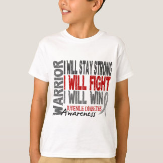 Juvenile Diabetes Warrior T-Shirt
