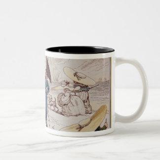 Juvenile Monstrosities, 1825 Two-Tone Mug