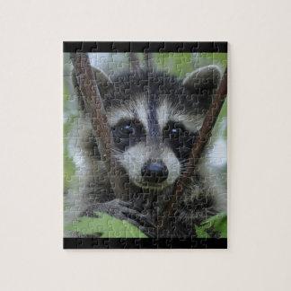 Juvenile Raccoon - Puzzle