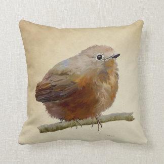 Juvenile Robin Cushion
