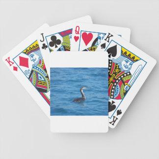 Juvenile Shag fishing Poker Deck
