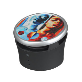 Juxtaposed Bluetooth Speaker