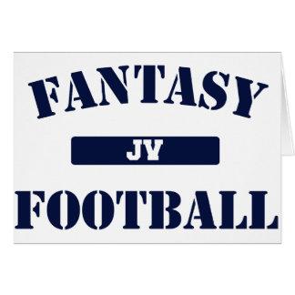 JV Fantasy Football Greeting Card