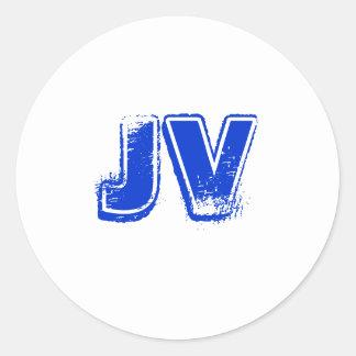 JVskatekrew Round Sticker