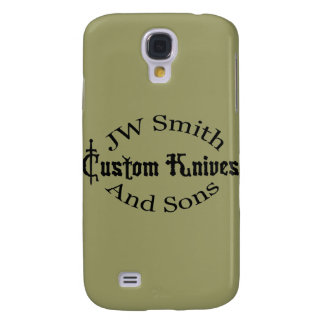JW Smith & Sons Fitted Hard Shell Case for iPhone Galaxy S4 Case