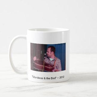 """JWB """"Mordecai & the Bird"""" Coffee Cup Basic White Mug"""