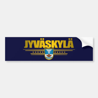Jyvaskyla Bumper Sticker