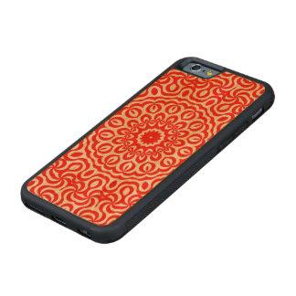 K191 Curly Red Swirls Cherry iPhone 6 Bumper