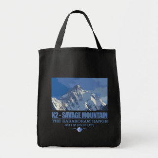 K2 -The Savage Mountain Tote Bag