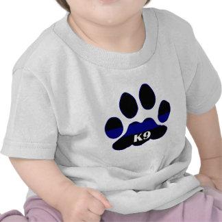 K9 Blue Line Tee Shirt