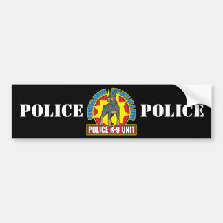 K9 Doberman Bite Bumper Sticker