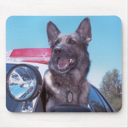 k9 dog mouse pad