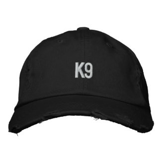 k9 Embroidered Hat
