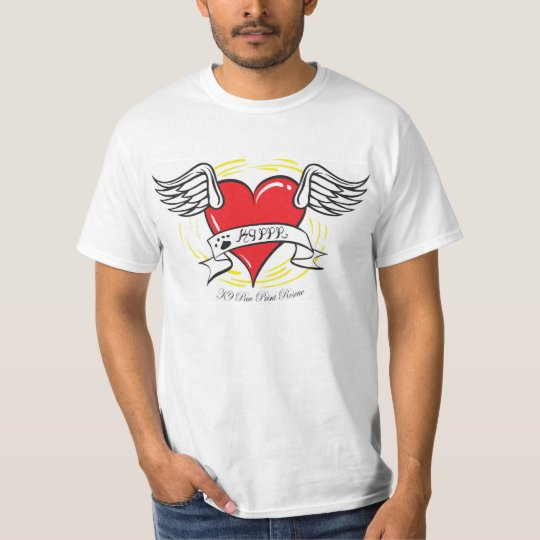 K9 Heart with wings T-Shirt