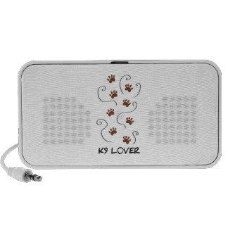 K9 Lover iPod Speakers