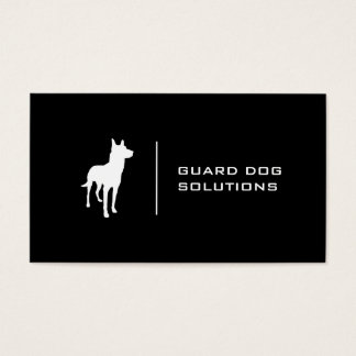 K9 | Minimal (black) Business Card