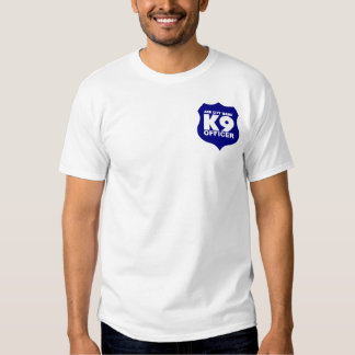 K9 Officer T-Shirt in Blue, ADD CITY NAME