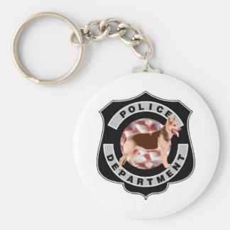K9 Police Key Ring