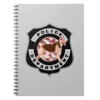 K9 Police Officers Notebook