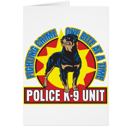 K9 Rottweiler Bite Cards