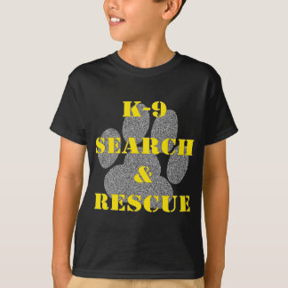 K9 Search and Rescue T-Shirt