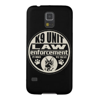 K9 Unit In Dogs We Trust (Black) Case For Galaxy S5