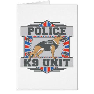 K9 Unit Police German Shepherd Greeting Card