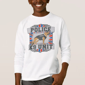 K9 Unit Police German Shepherd T-Shirt