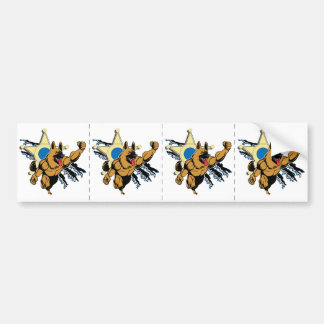 K9 Unit Super Dog Bumper Sticker
