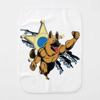 K9 Unit Super Dog Burp Cloth