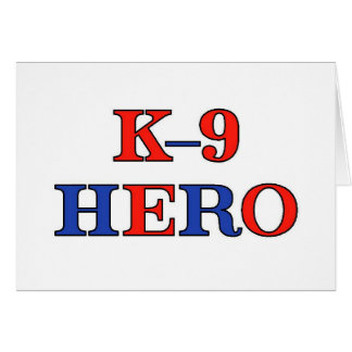 K-9 Hero Card