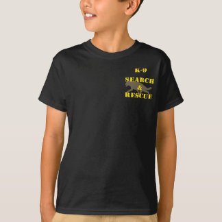 K-9 Search and Rescue GSD T-Shirt
