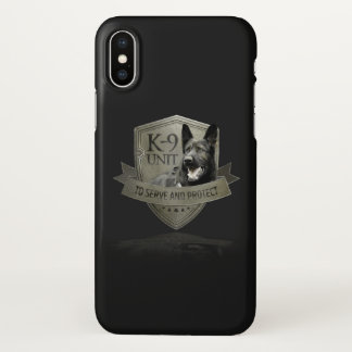 K-9 Unit GSD iPhone X Case