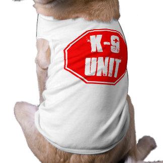 K-9 UNIT SLEEVELESS DOG SHIRT