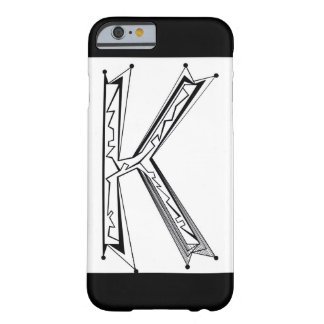 """""""K"""" BARELY THERE iPhone 6 CASE"""