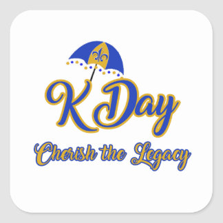 K Day Stickers
