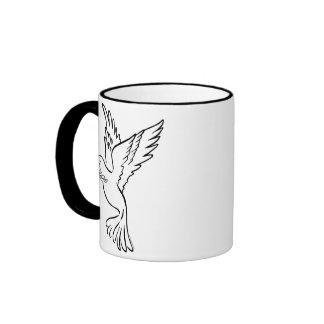 K - Dove of Peace Mugs