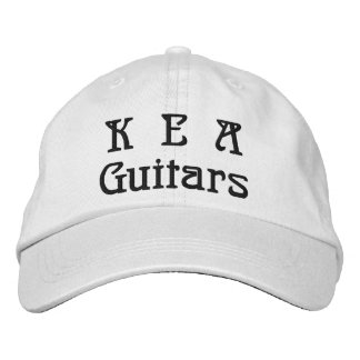K.E.A Guitars Adjustable Hat Embroidered Embroidered Hat