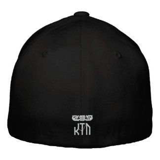 K.I.D. Fitted Hat/ Logo on Back Baseball Cap