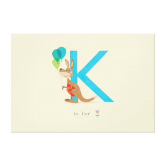 K is for... stretched canvas prints